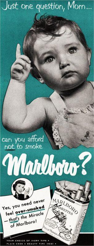 Vintage Smoking Ads