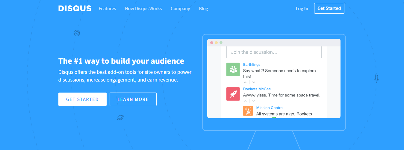 Disqus The 1 way to build an audience on your website
