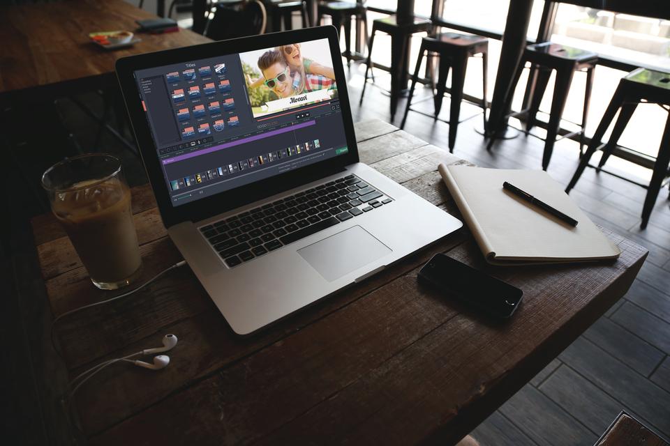 Movavi Editor on macbookpro