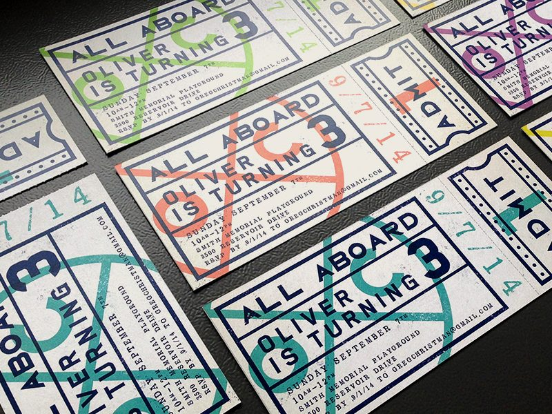 40 ticket designs that will inspire you inspirationfeed