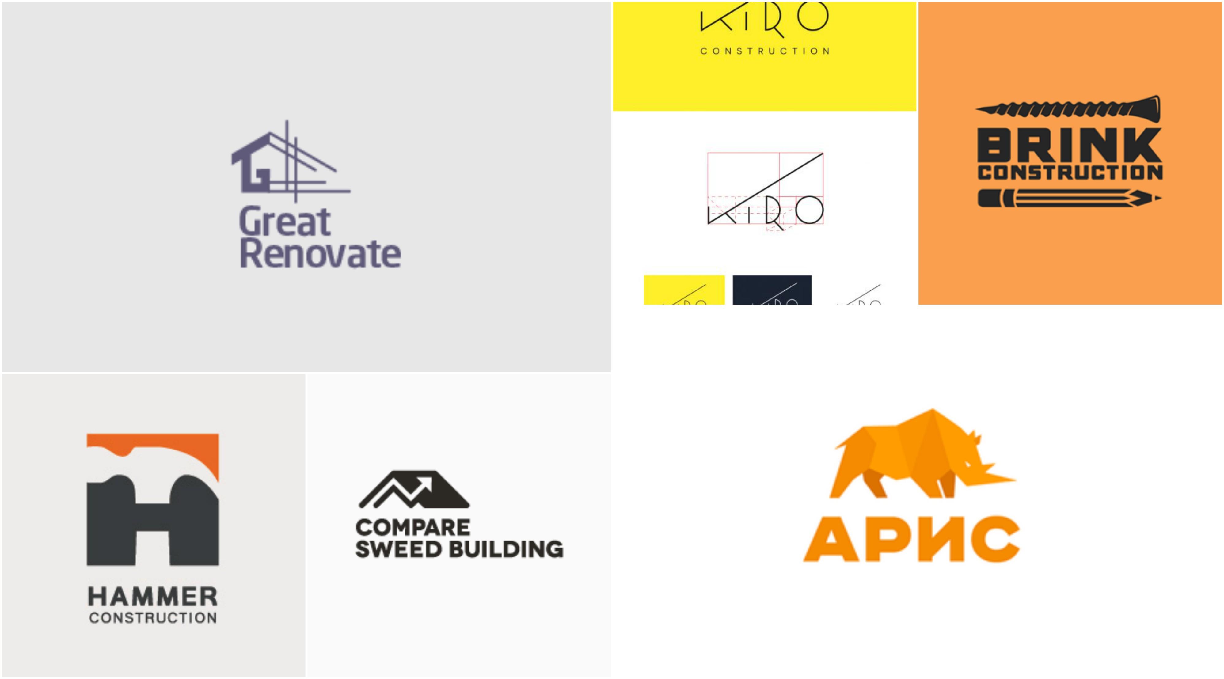 45 Original Construction Logo Ideas Inspirationfeed,Good Business Card Design