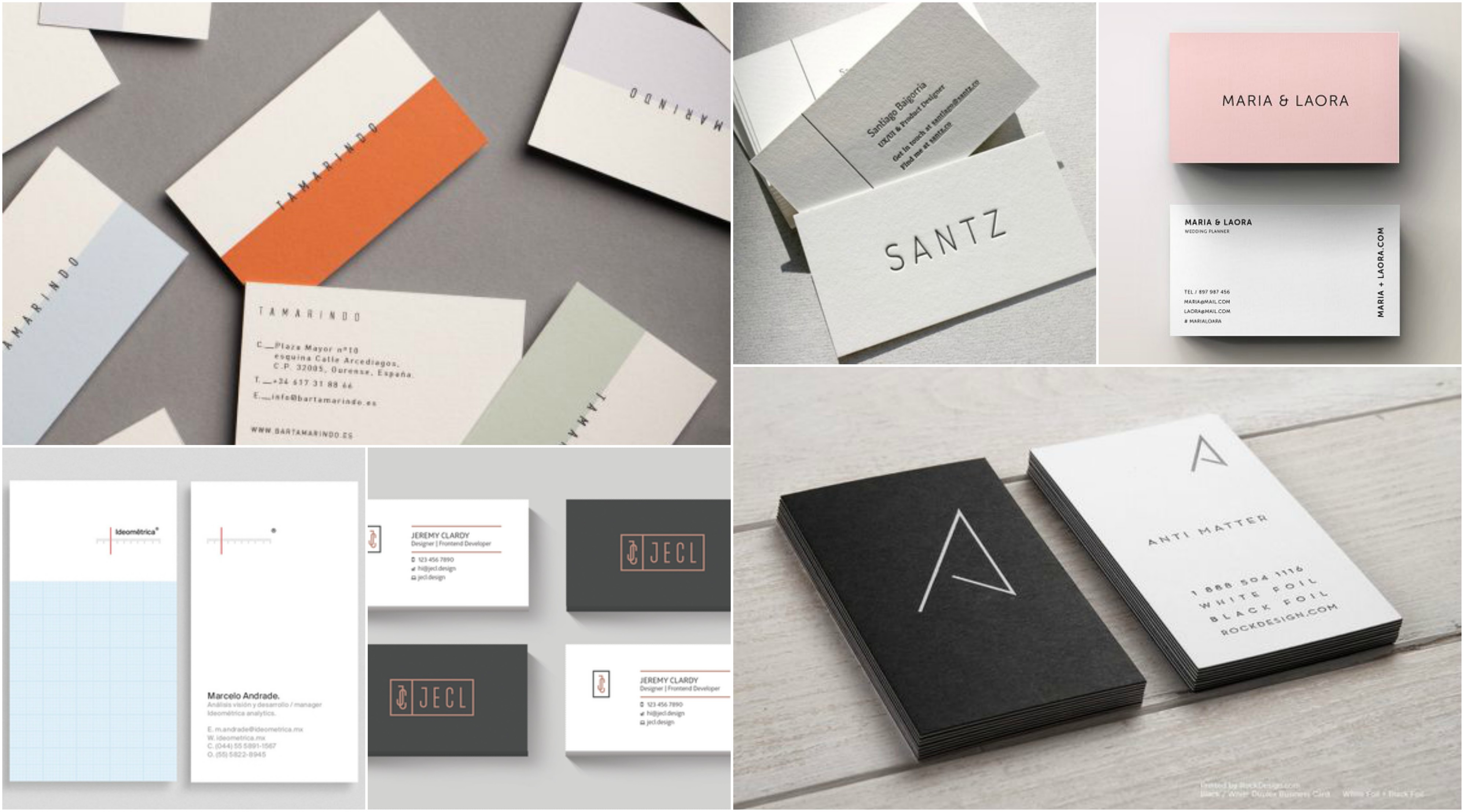 Minimalist Business Card Template from inspirationfeed.com