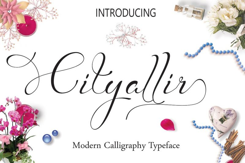 Cityallir Script: Is a hand calligraphy, smooth, modern and clasik, calligraphy wavy, which was created to meet the needs of your next design project. Cityallir Script , Can used for various purposes. such as the title, signature, logo, correspondence, wedding invitations, letterhead, signage, labels, newsletters, posters, badges, etc.