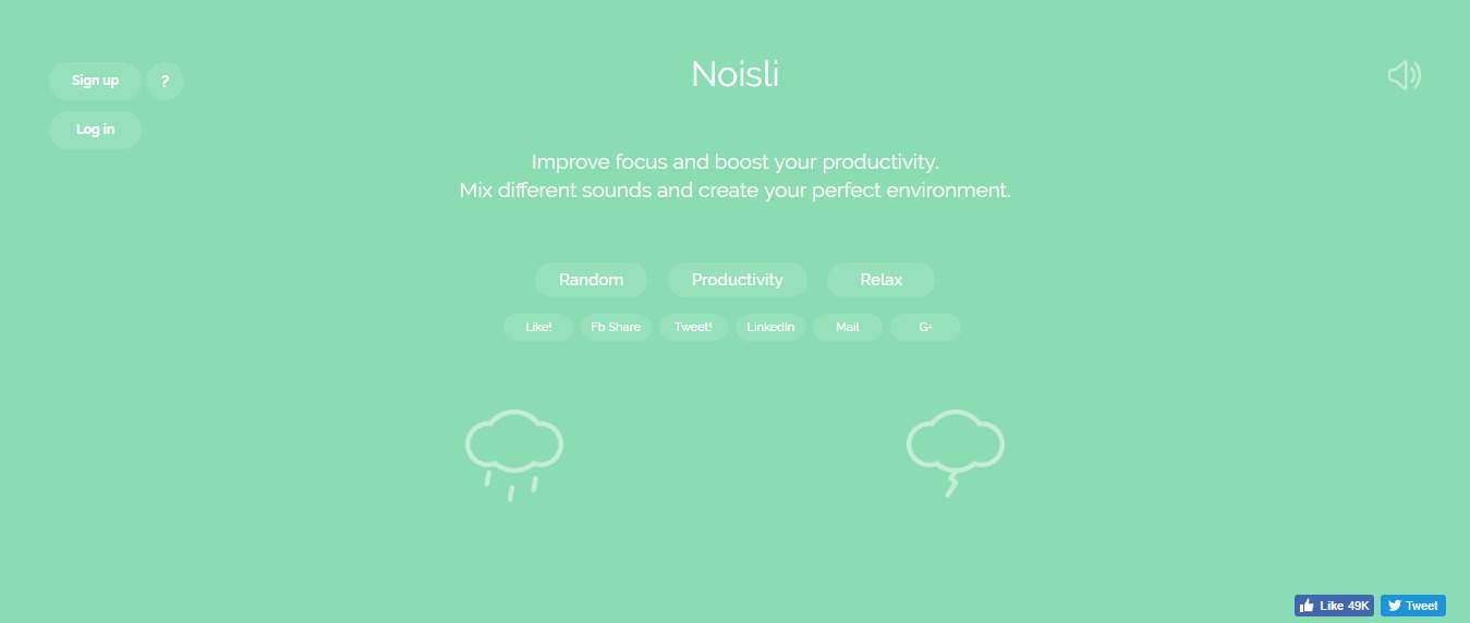 Noisli Improve Focus and Boost Productivity with Background Noise