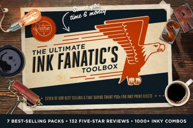 The Ink Fanatic's Toolbox PSD Kit Download