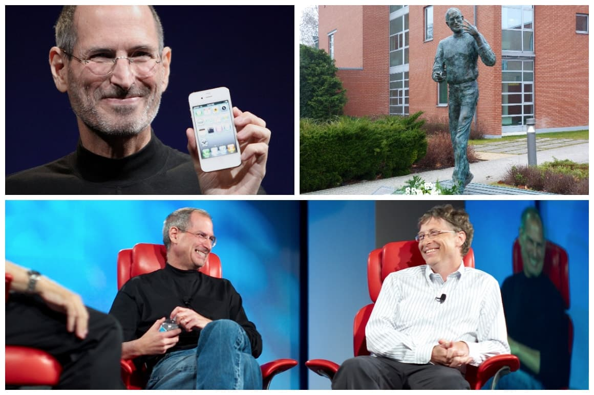 Apple Founder Steve Jobs Collage