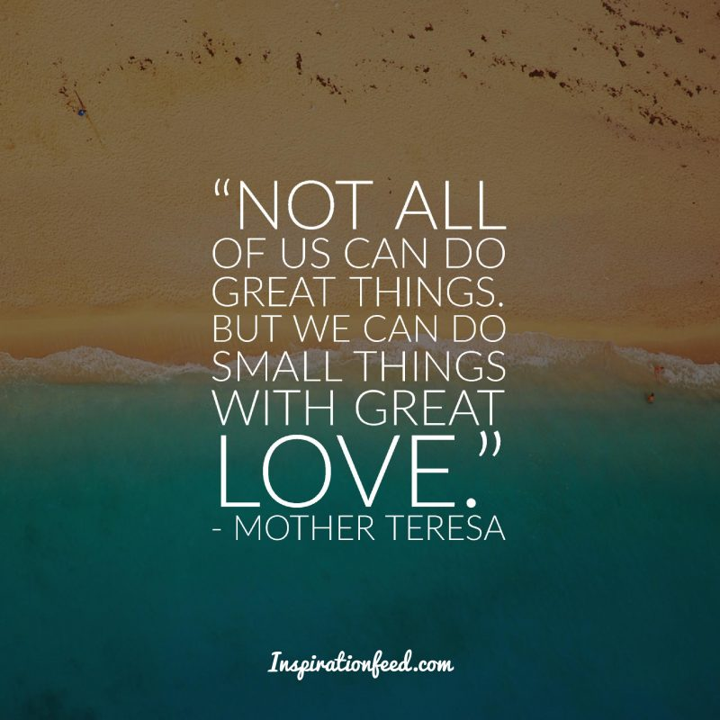 30 Mother Teresa Quotes On Service Life And Love Inspirationfeed