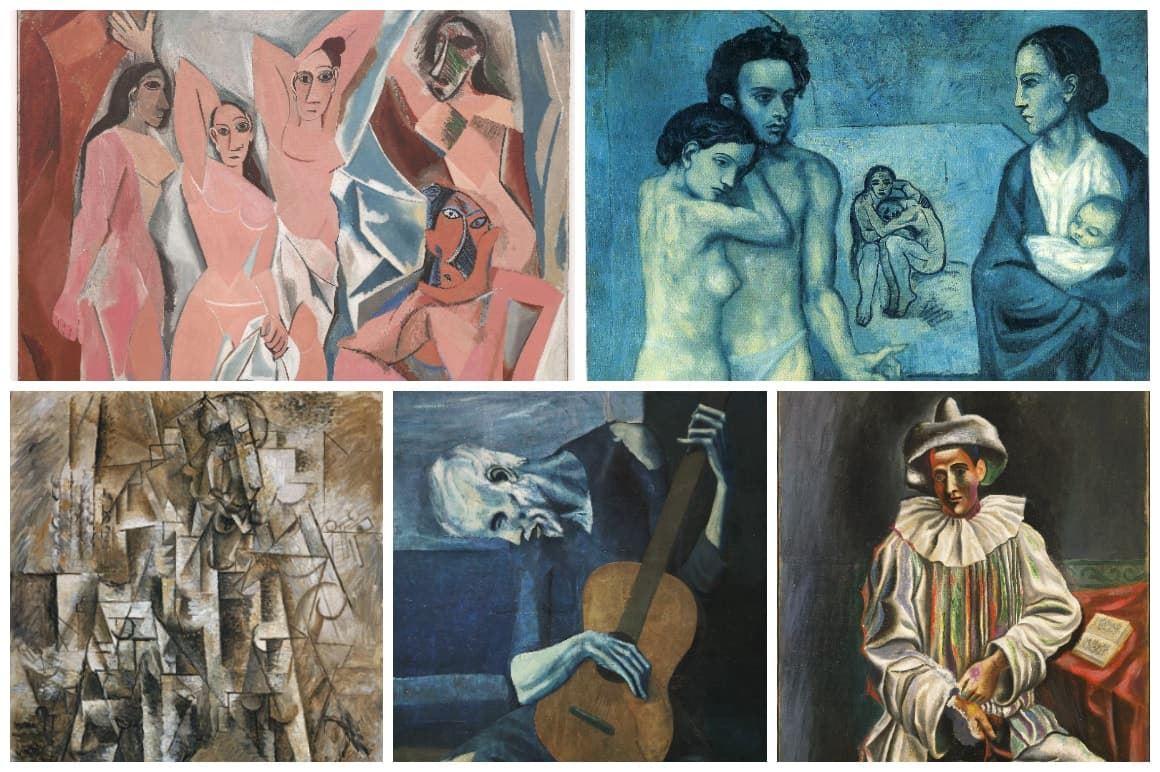 Pablo Picasso's Earlier artWorks