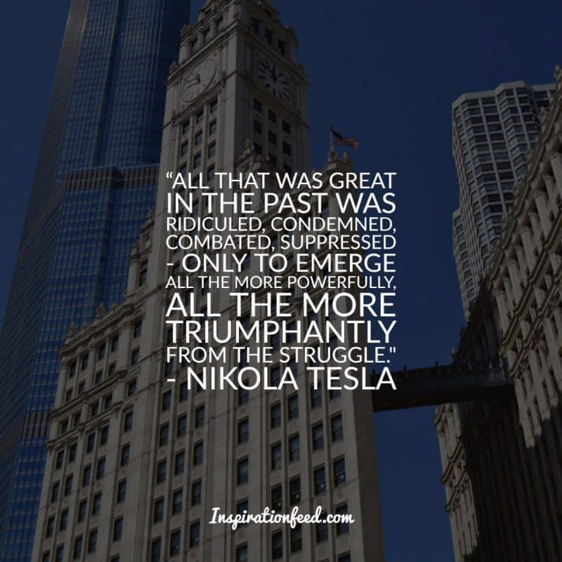 Nikola Tesla Quotes