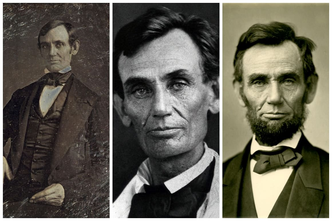 Abraham Lincoln Photo Collage