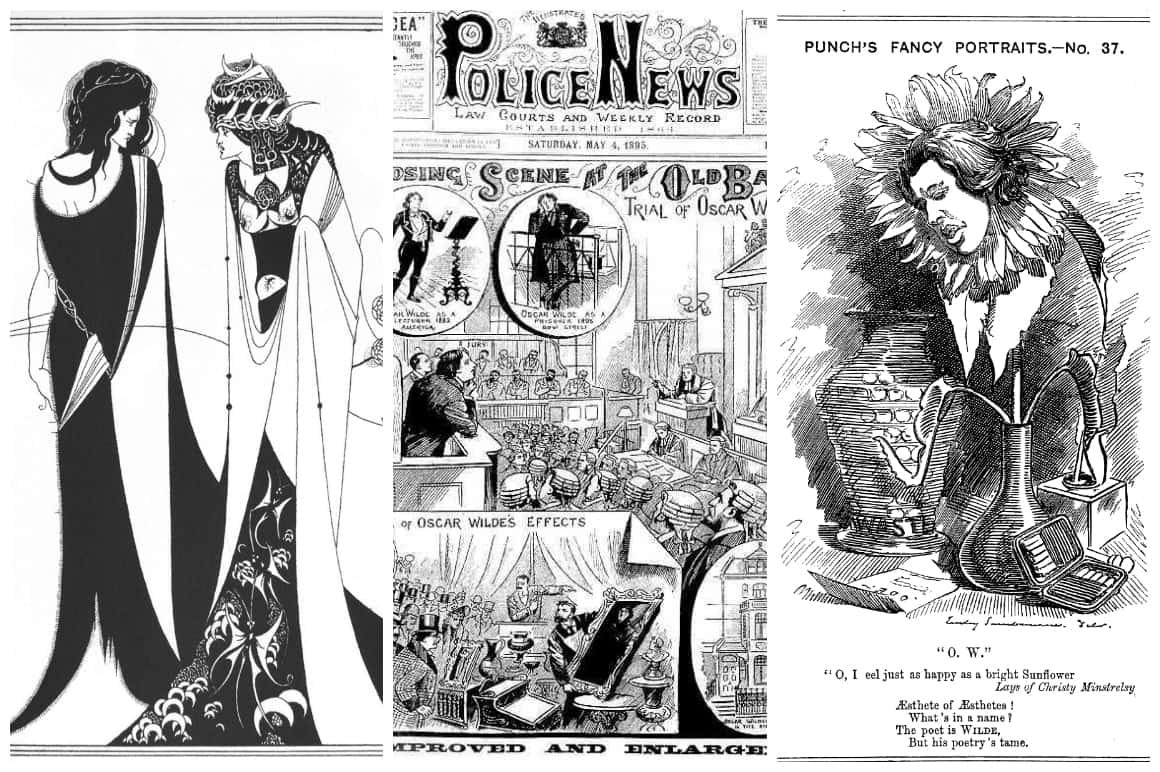 Oscar Wilde Works Collage
