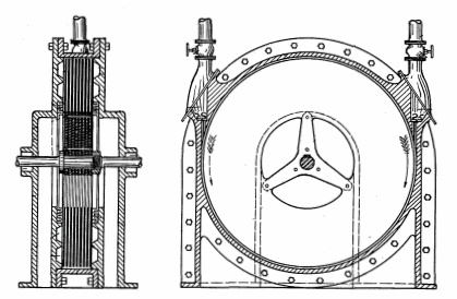 Tesla's bladeless turbine design