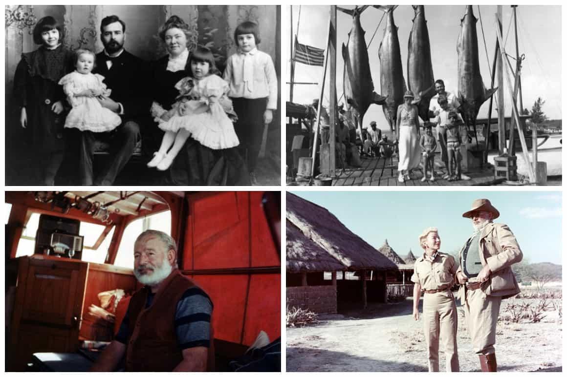 Ernest Hemingway Legacy Collage