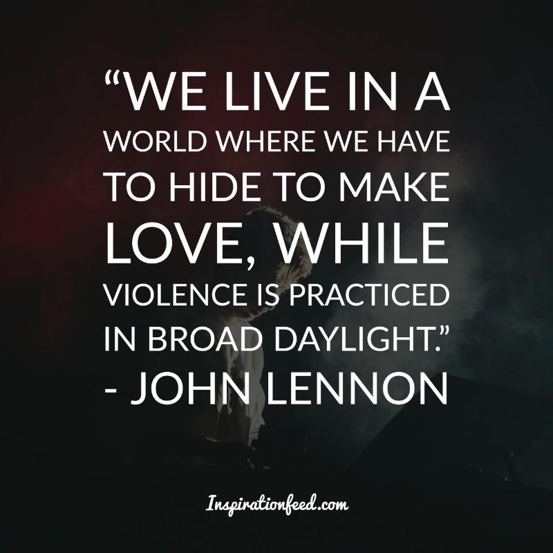 Inspirational John Lennon Quotes