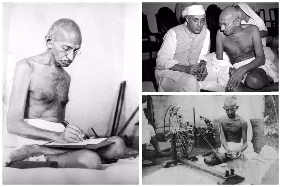 Mahatma Gandhi Collage Quotes