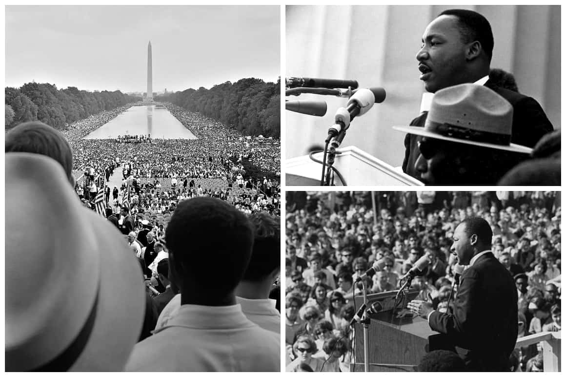 Martin Luther King Jr Collage