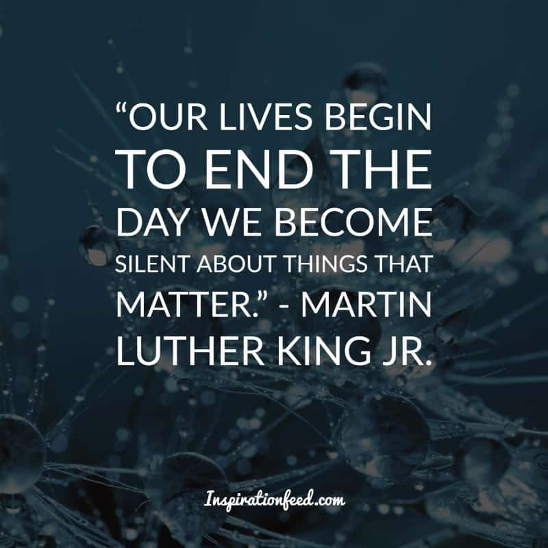 30 Martin Luther King Jr. Quotes on Courage and Equality ...