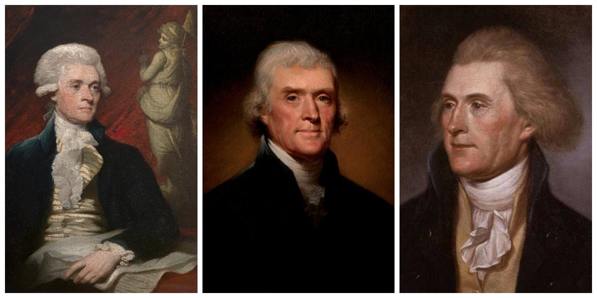 Thomas Jefferson Collage