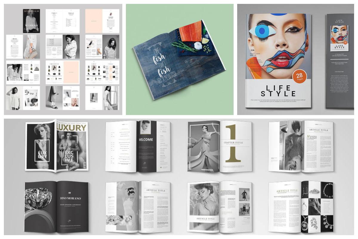 20 Premium Magazine Templates For Professionals Inspirationfeed