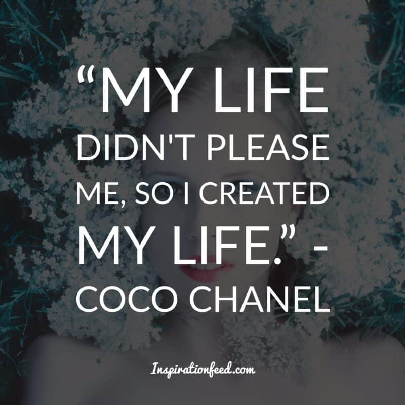 inspirational coco chanel quotes to bring out your bold self