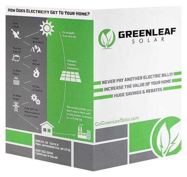 Greenleaf Solar Flyer