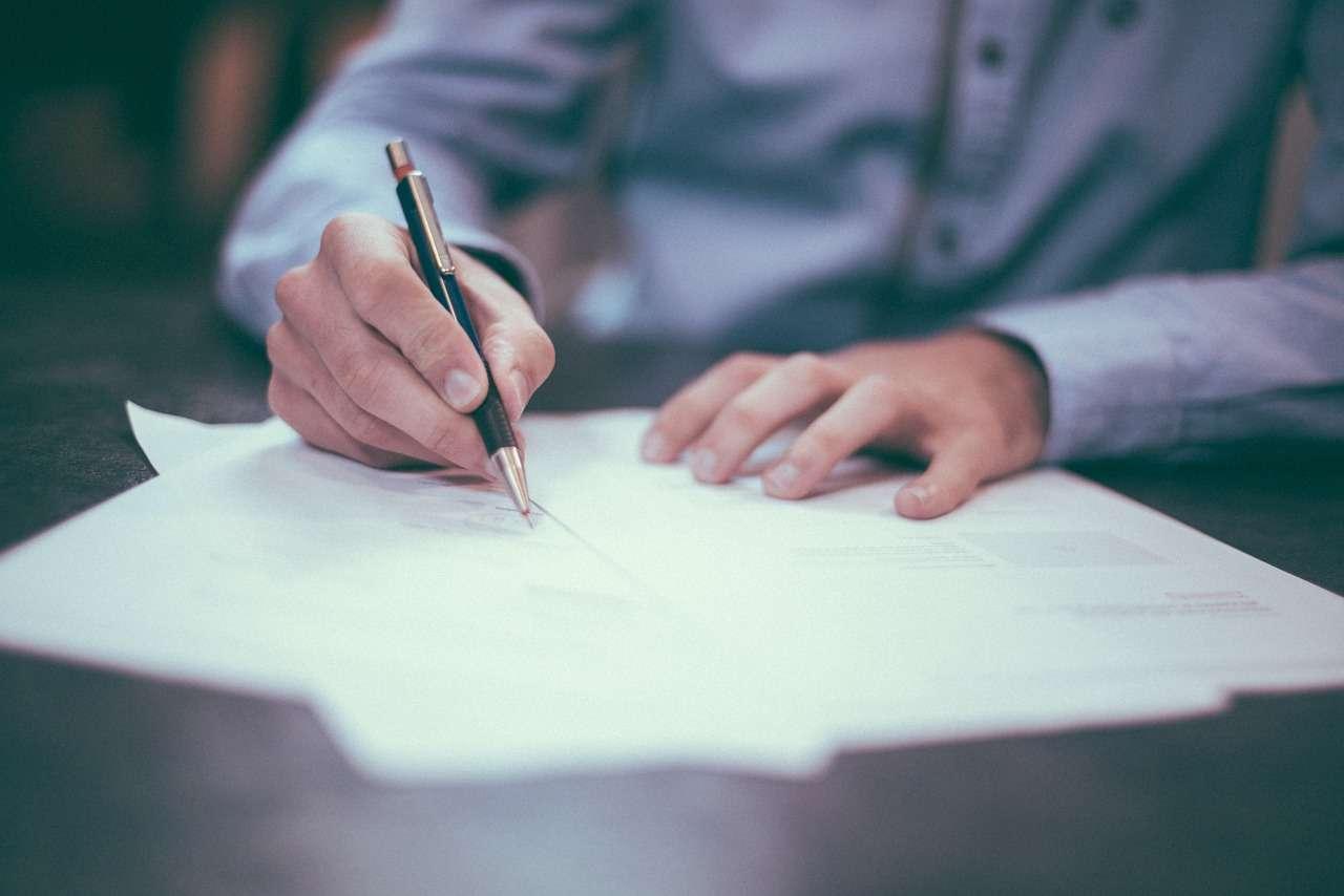 Not letting your client sign a contract