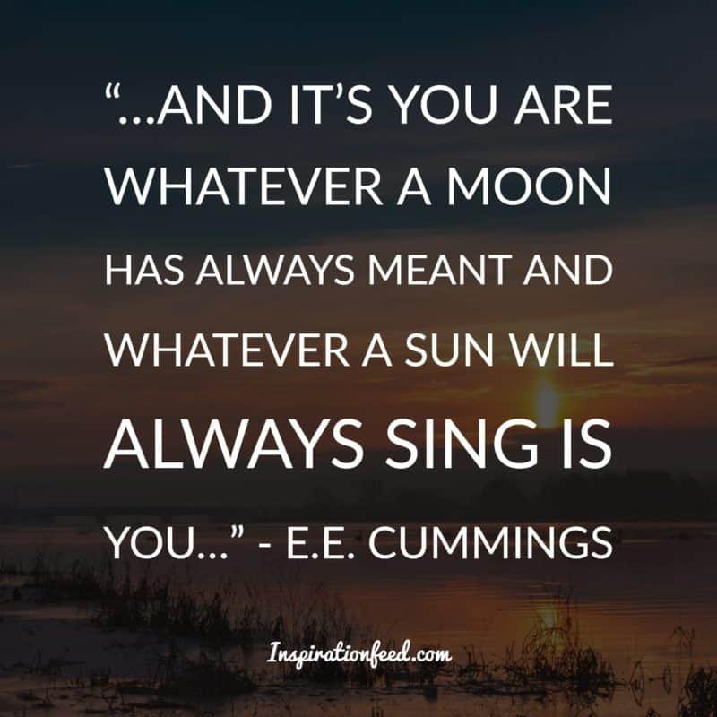 E.E. Cummings quotes
