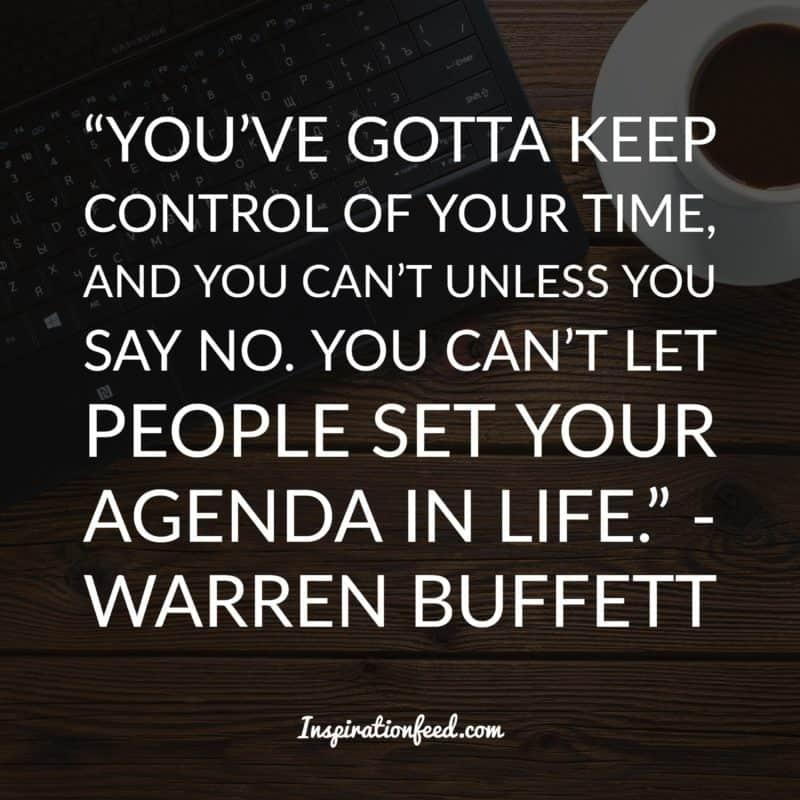 Warren Buffett quotes