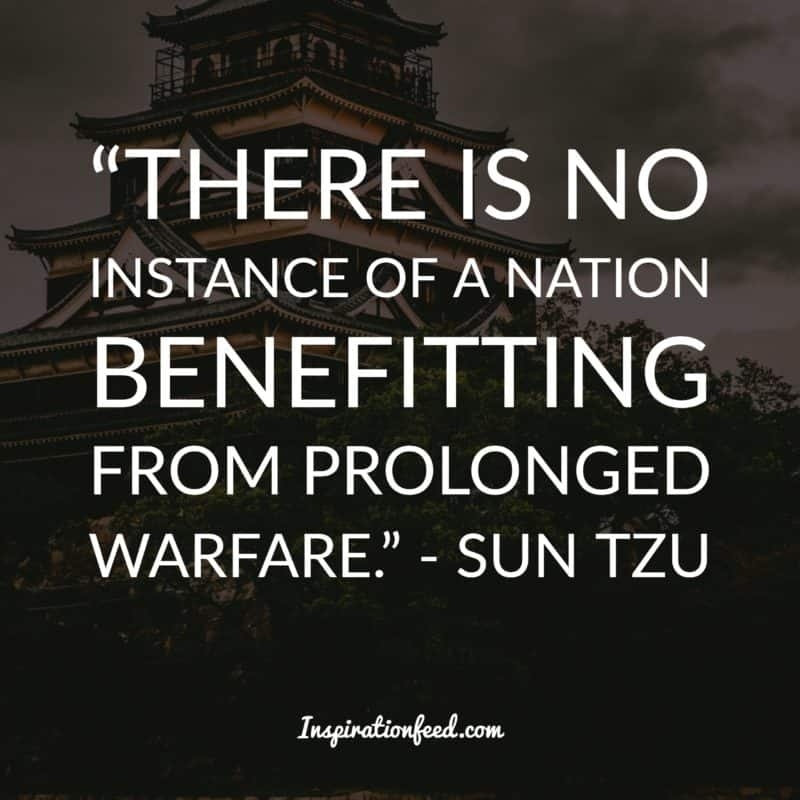 30 Powerful Sun Tzu Quotes About The Art Of War | Inspirationfeed