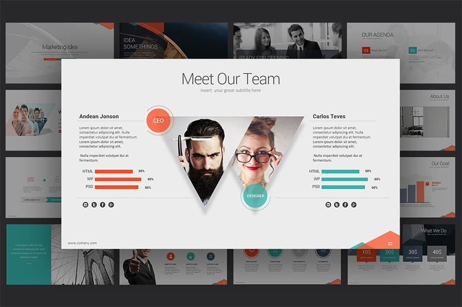 Marketing Idea Powerpoint Template