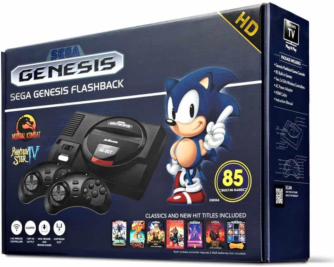 Sega Genesis Flashback