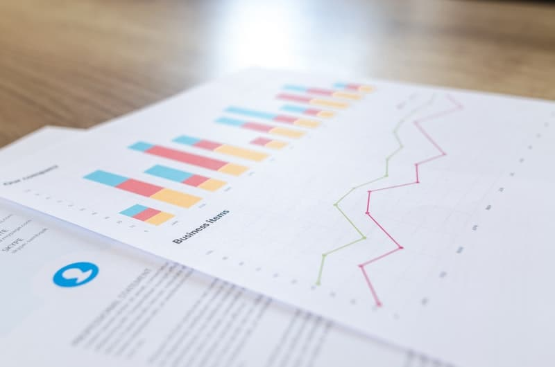 analytics-blur-business-close-up