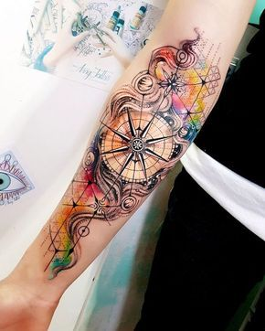 20 Compass Tattoo Ideas For Men And Women Inspirationfeed