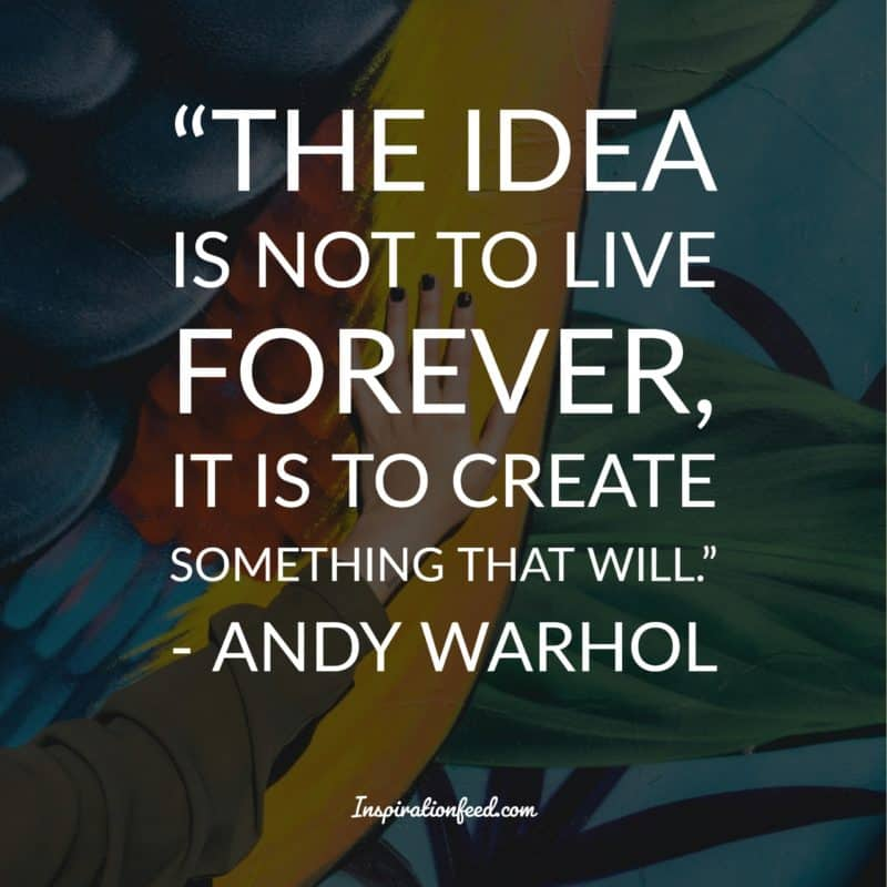 unforgettable andy warhol quotes and philosophy in life
