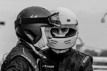 Confident Racers Portrait