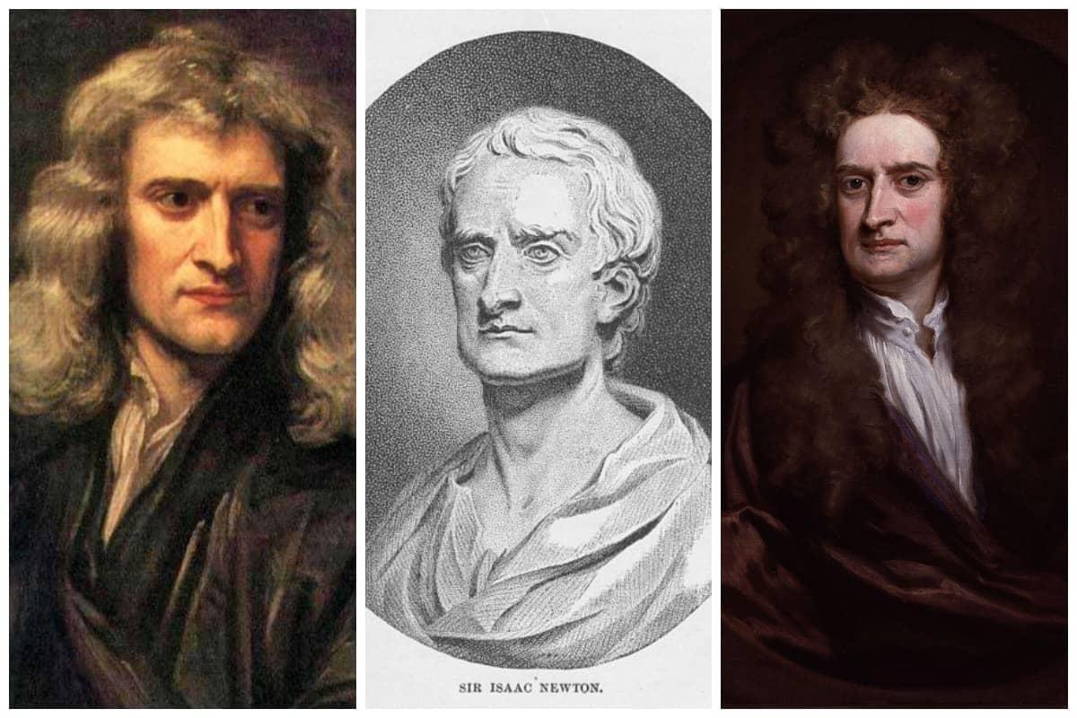 Sir Isaac Newton Collage