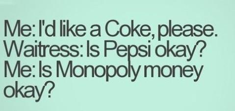 Coke and Pensi