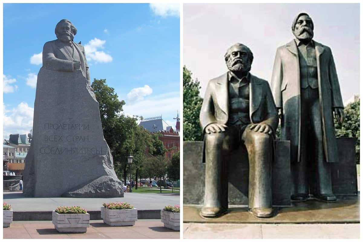 Statues Dedicated to Karl Marx