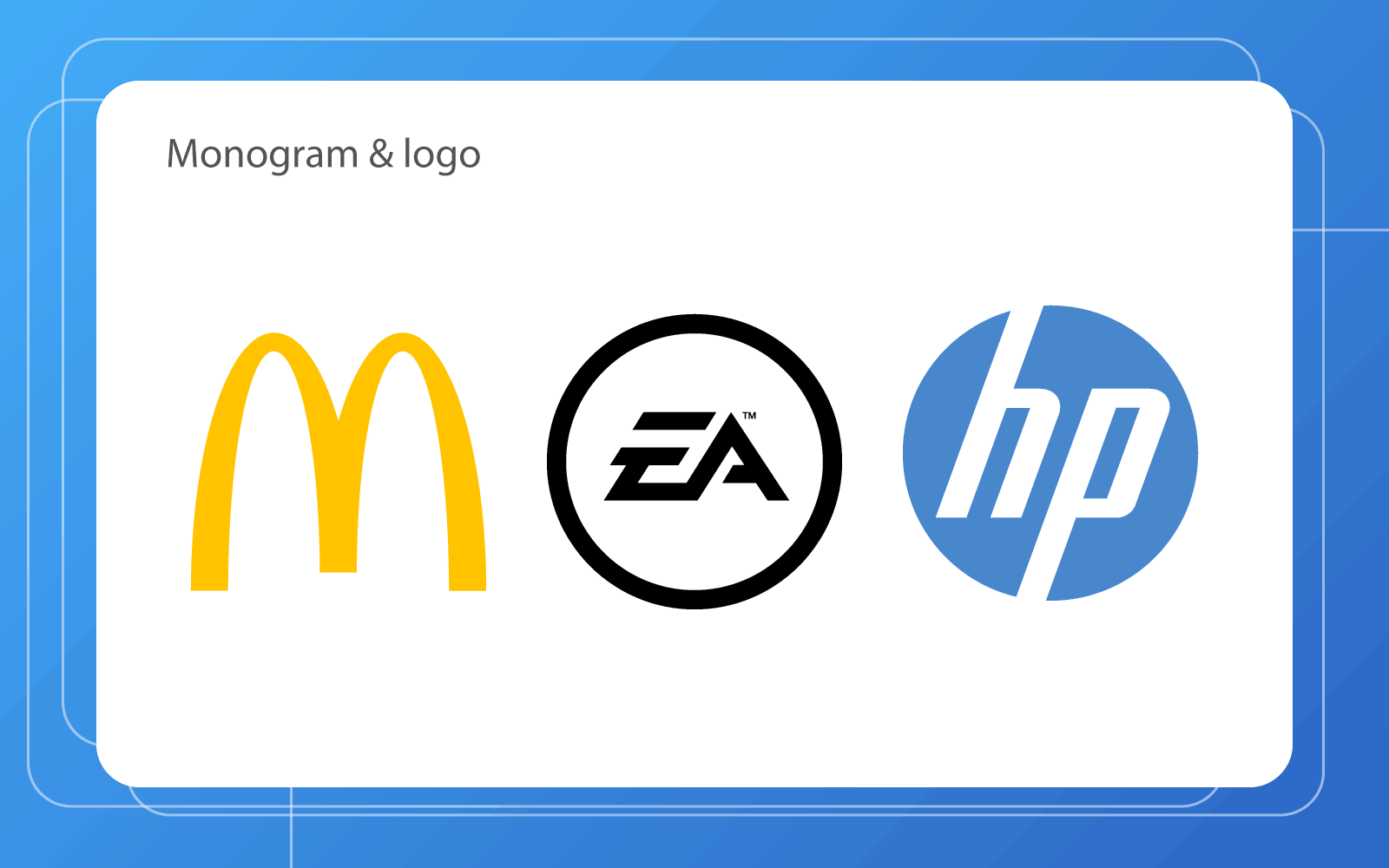 monogram logo designs