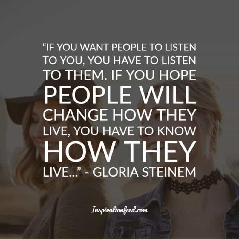 Gloria Steinem Quotes