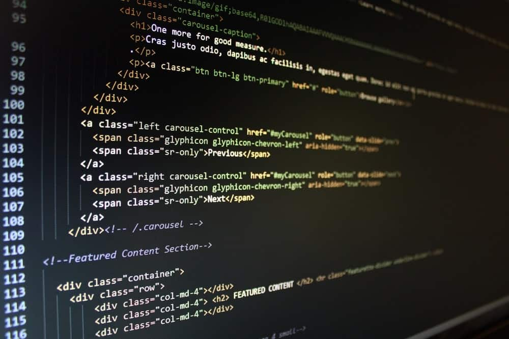 business code coding computer