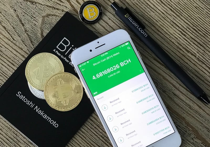 Bitcoin Balance on Mobile Wallet