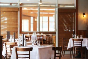 beautiful interior of a classy restaurant