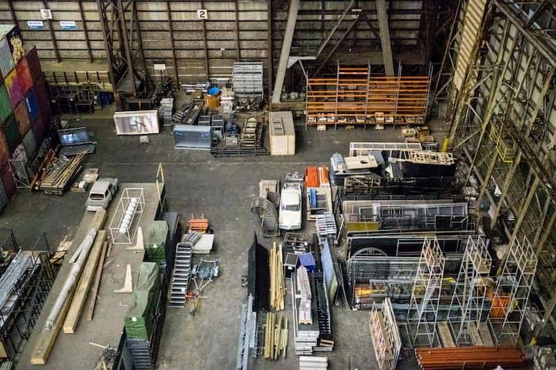 Automation at a warehouse