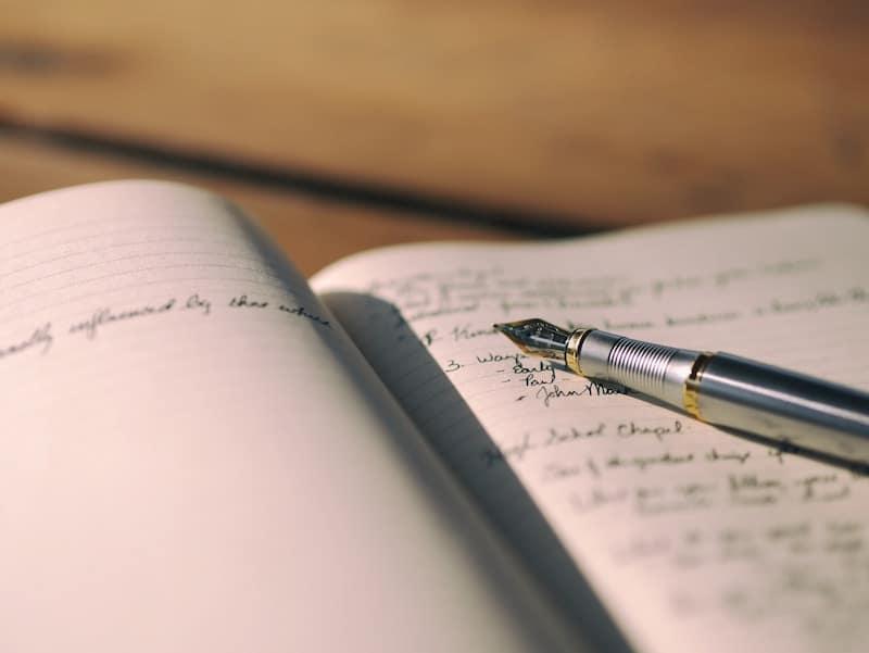 Exercises to stimulate writing