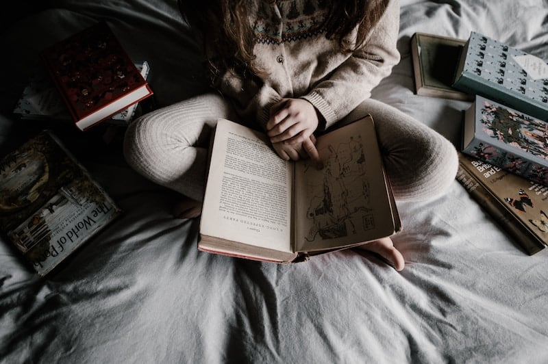 Reading books and journals