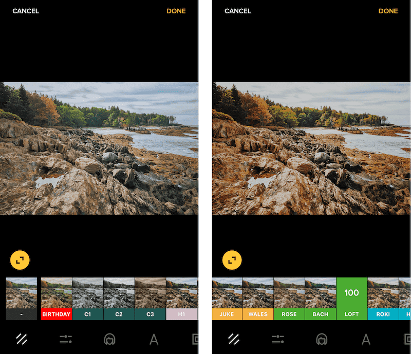 before-and-after-premium-filter