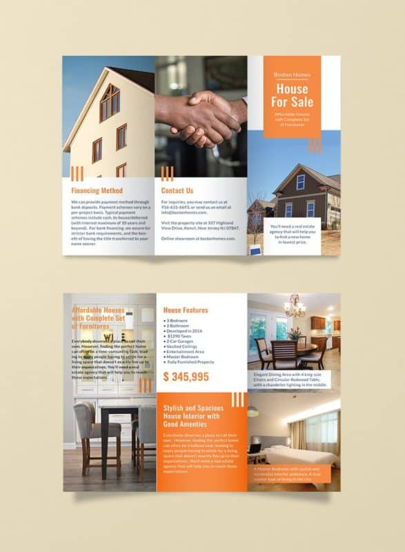 House for Sale Brochure Template