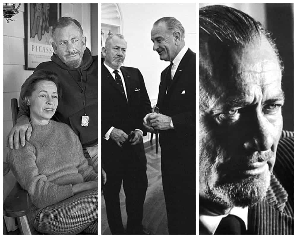John Steinbeck Collage