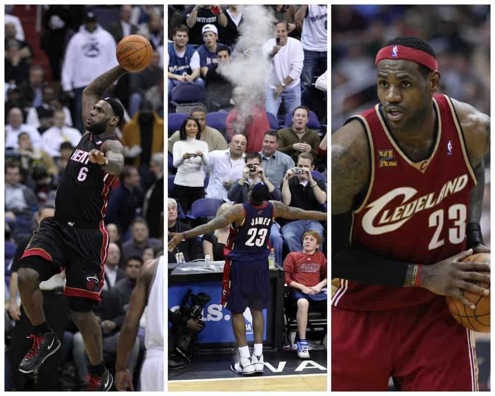 Lebron James Collage